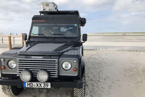 Wohnmobil mieten in Heidelberg von privat | Land Rover Landy-Explorer