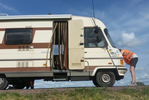 Wohnmobil mieten in Leipzig von privat | Hymer Hyrmine ;-)