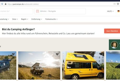 Wohnmobil mieten in Berlin von privat | VW Van van Vansen