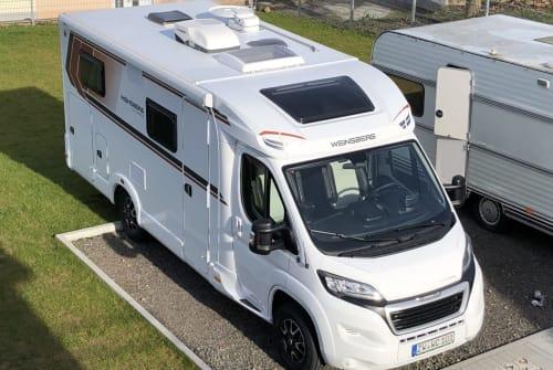 Wohnmobil mieten in Zweibrücken von privat | Weinsberg  WallCamper