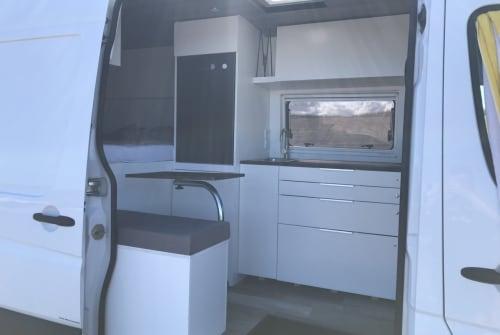 Wohnmobil mieten in Langenfeld von privat | Mercedes Sprinter  Selfmade Camper