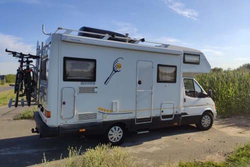 Wohnmobil mieten in Leipzig von privat | Karmann Davis 620 M Monsieur Davis