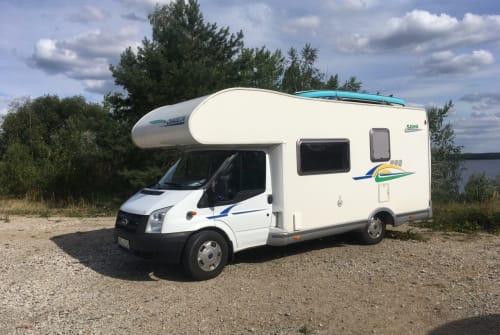 Wohnmobil mieten in Vaihingen an der Enz von privat | Ford Transit Chausson  Womo