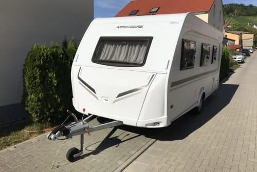 Wohnmobil mieten in Sommerhausen von privat | Weinsberg TraumWohnwagen