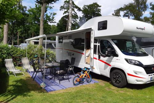Wohnmobil mieten in Eisleben von privat | Fiat Ducato Bodo II