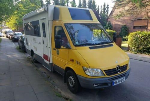 Wohnmobil mieten in Bad Doberan von privat | Mercedes  Sprinter  Kasten  Schneckenpost