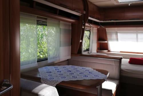 Wohnmobil mieten in Maria Saal von privat   Fendt Saphir 515 skm Hilli