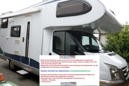 Wohnmobil mieten in Berlin von privat | Hobby Hobby 600 AK