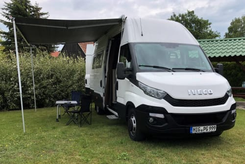 Wohnmobil mieten in Bad Frankenhausen/Kyffhäuser von privat   Iveco Liesbett
