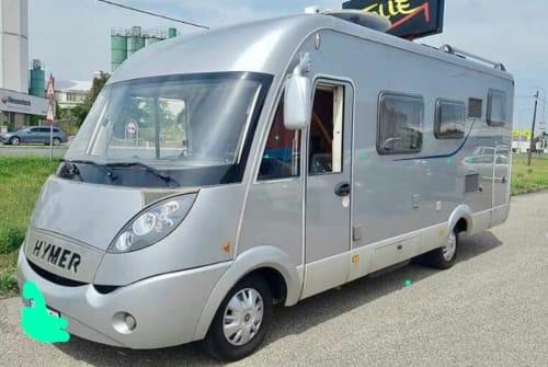 Wohnmobil mieten in Langenlois von privat   Hymer Marcomobile