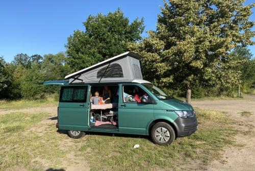Wohnmobil mieten in München von privat | VW Grüni