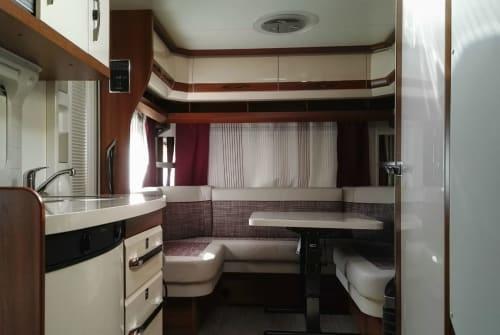 Wohnmobil mieten in Leverkusen von privat | Hobby  Hobby Excellent 455