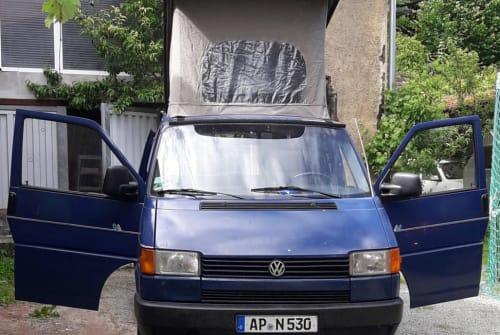 Wohnmobil mieten in Kranichfeld von privat | Volkswagen LPG blau Grüne Pl. 110PS
