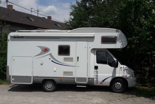 Wohnmobil mieten in Peiting von privat | Fiat Moby-Dick