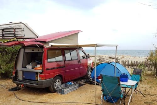 Wohnmobil mieten in Berlin von privat | Volkswagen T4 California Emil