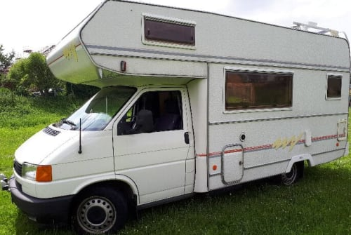 Wohnmobil mieten in Klipphausen von privat | Volkswagen / Benziner, Flüssiggas / grüne Plakette Baron - Klima