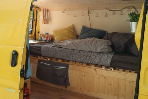 Wohnmobil mieten in Uffing am Staffelsee von privat | Volkswagen Cazimir