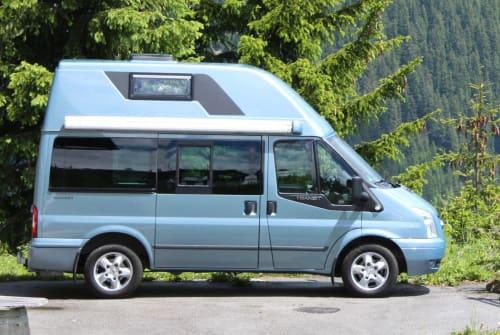 Wohnmobil mieten in München von privat | Ford Spezi