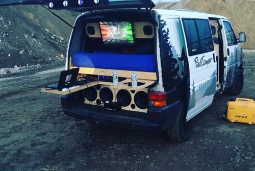 Wohnmobil mieten in Wenzlow von privat | Volkswagen FestiVan