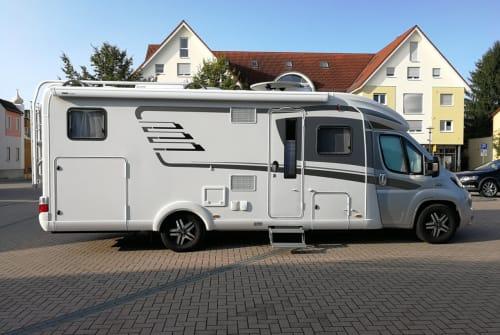 Wohnmobil mieten in Kerpen von privat | Hymer Unser Hymer