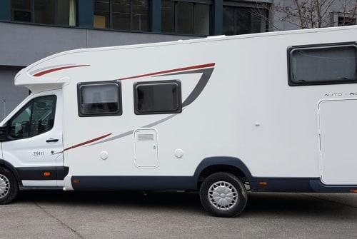 Wohnmobil mieten in Hemmingen von privat | Ford Das Fliwatüt