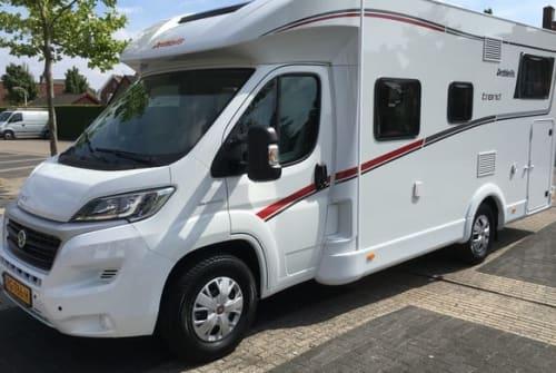 Wohnmobil mieten in Zwolle von privat | Dethleffs Dethleffs Trend T 6717