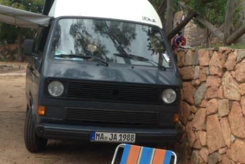 Wohnmobil mieten in Mannheim von privat | VW T3  Maja