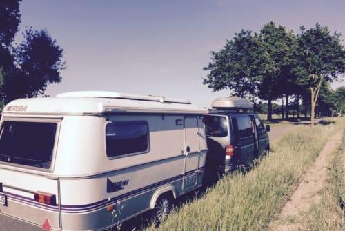 Wohnmobil mieten in Kiel von privat | Hymer Lila
