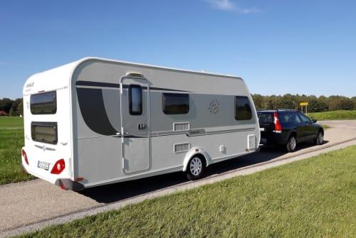 Wohnmobil mieten in Raubling von privat | Knaus Weisse Wolke