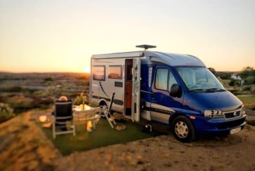 Wohnmobil mieten in Algermissen von privat | Fiat Ducato Koenichblau
