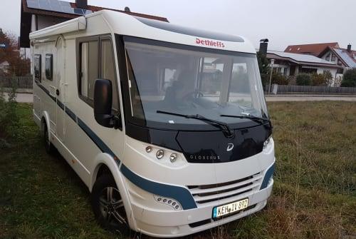 Wohnmobil mieten in Kelheim von privat | Dethleffs Eva-Mobil