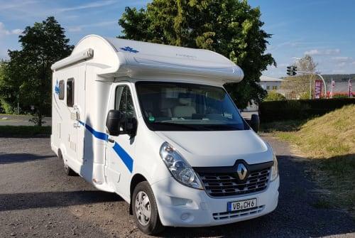 Wohnmobil mieten in Lauterbach (Hessen) von privat | Renault Master Bender-Mobil