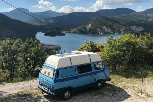 Wohnmobil mieten in Jena von privat | Volkswagen Eva