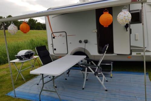 Wohnmobil mieten in Grevenbroich von privat | Bürstner Mr. Bürstner