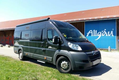 Wohnmobil mieten in Sonthofen von privat | Citroen Jumper  PösslWohnmobil