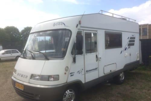 Wohnmobil mieten in Maastricht von privat | Hymer  Hymer 544 nieuw