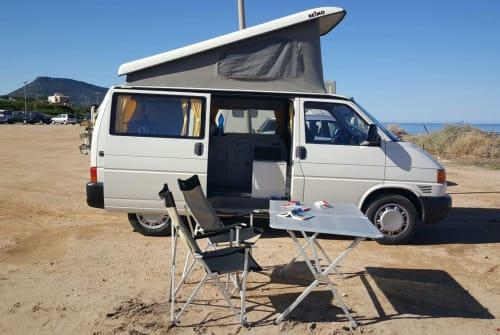 Wohnmobil mieten in Chiaramonti von privat | VW Sardinenbüchse