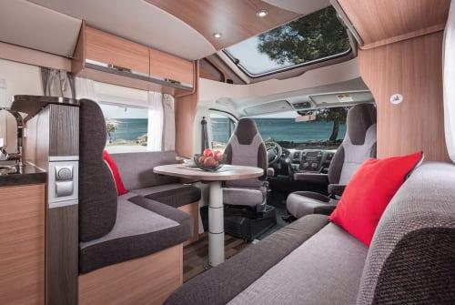 Wohnmobil mieten in Sömmerda von privat | Knaus Klausi