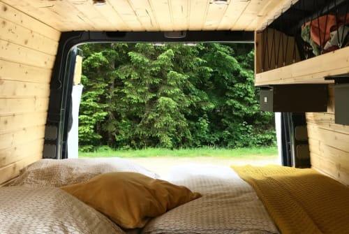 Wohnmobil mieten in Erfurt von privat | Volkswagen August der treue Crafter