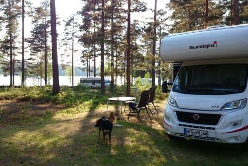 Wohnmobil mieten in Gerhardshofen von privat | Sunlight Wolfsmobil....