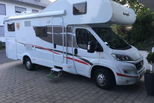 Wohnmobil mieten in Sandberg von privat | Sunlight Alfred