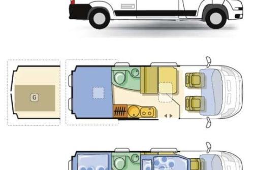 Wohnmobil mieten in Oberschöna von privat | ADRIA Ewa Kaludis