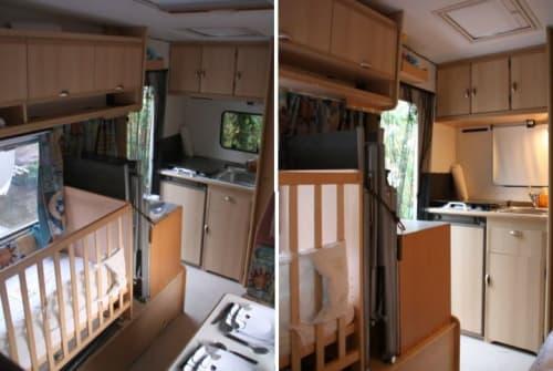 Wohnmobil mieten in Löffingen von privat | Fiat Ducato Wohni  Urlaub mit Baby und kleinkind