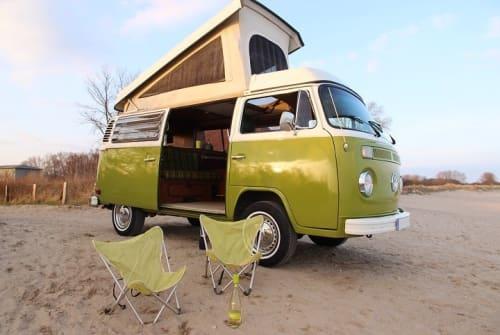VW T2B Westfalia Camper Hopps, von privat mieten in Hamburg