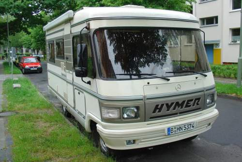 Wohnmobil mieten in Berlin von privat | Hymer Hymi