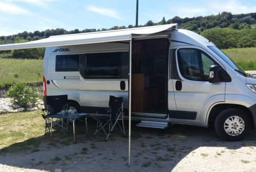 Wohnmobil mieten in Bulzi von privat | Pössl  La Vespa