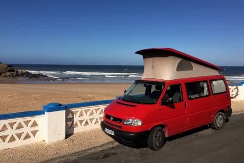Wohnmobil mieten in Berlin von privat | Volkswagen Die Rote Zora