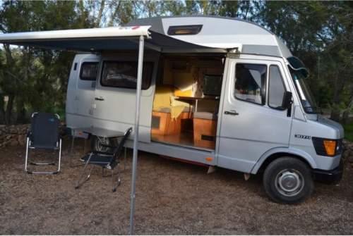 wohnmobil 308 sprinter in alcantarilha mieten. Black Bedroom Furniture Sets. Home Design Ideas
