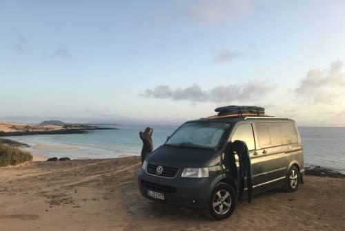 Wohnmobil mieten in Puerto del Rosario von privat | VW T5 FuerteVANtoura