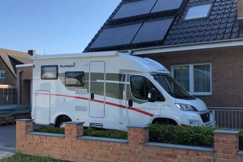 Wohnmobil mieten in Münster von privat | Sunlight  Sunlight T60